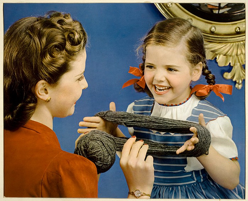 Knit lessons by George Eastman House