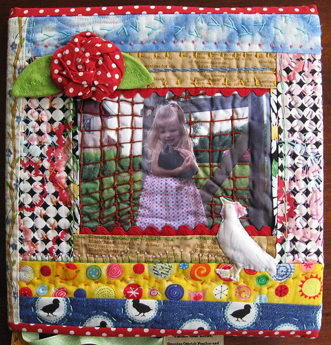 Calamity Kim Quilted Book Cover And Celebrating Surface Design