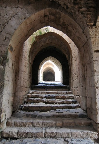 2160527-Doorway-upon-doorway-guard-the-Inner-Fort-entrance-to-Krak-des-Chevaliers-3