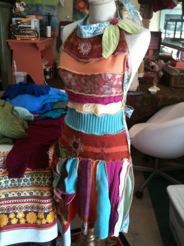 Sweater apron