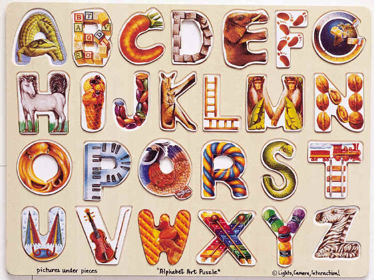"This ""wooden alphabet blocks"" clipart image is available through a low cost"